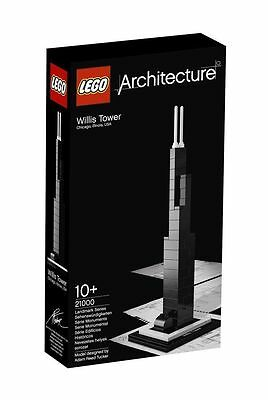 New Sealed Lego Architecture Willis Tower Chicago Set 21000 Fast And Free Post