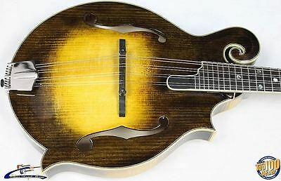 Eastman MD815-V F-Style Acoustic Mandolin w/ Case Solid Woods Demo Model #32449
