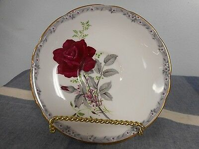 """Royal Stafford Roses To Remember Bone China Saucer Plate 5 5/8"""""""