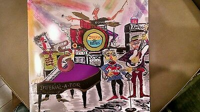 New Elvis Costello Imperial Bedroom & Other Chambers tour book RARE ART BY ELVIS