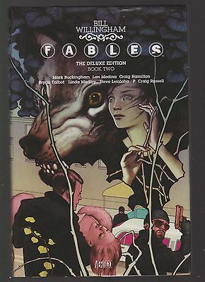 Fables the delux edition book two by Bill Willingham