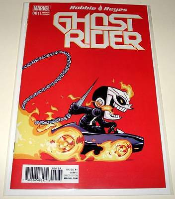 GHOST RIDER # 1  Marvel Comic  Jan 2017  NM   SKOTTIE YOUNG VARIANT COVER