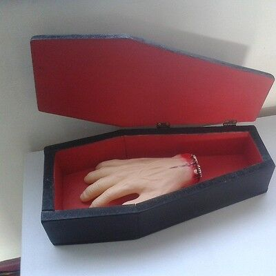 Coffin Shaped Tinket Box