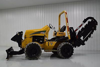 2012 Vermeer RTX550 Hyd Trencher 4X4X4 Low Hours! Ditch Witch RT55 RT80