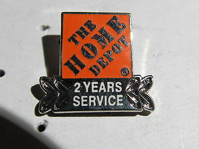 home depot collectibles home 2 year service   lapel pin