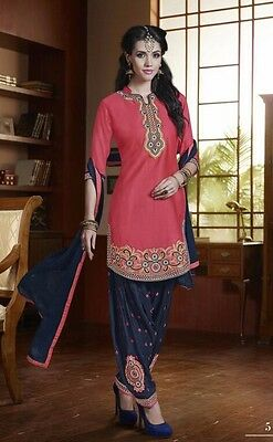 Bollywood Salwar Kameez Anarkali Patiala Designer Suit