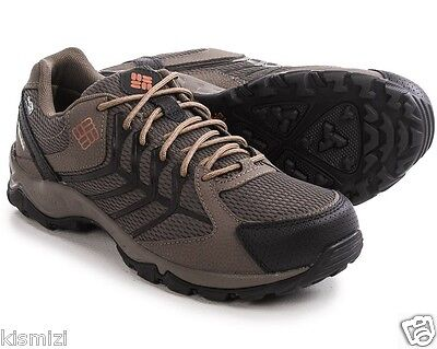 New Mens Columbia Trailhawk OutDry Techlite Omni-Grip Hiking Trail Shoes Wide