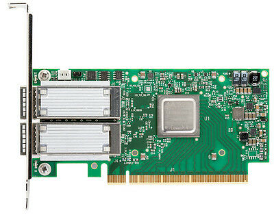 Mellanox ConnectX®-4 EDR 100Gb/s InfiniBand or 100Gb/s Ethernet Dual port