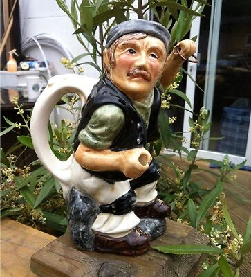 Collectable Roy Kirkham Staffordshire Character Toby Jug Coal Miner
