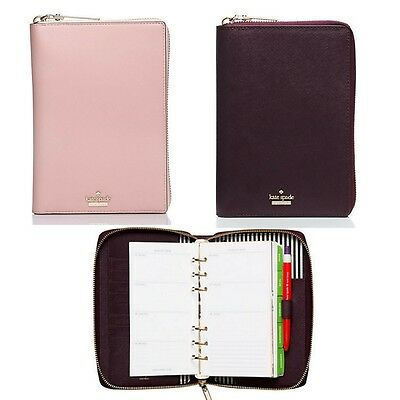 NWT Kate Spade Cameron St Saffiano Leather Zip Around Agenda/Wallet 2017-SOLDOUT