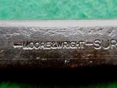 Moore & Wright Engineers or Blacksmiths cold chisel Sheffield England  /fr1635