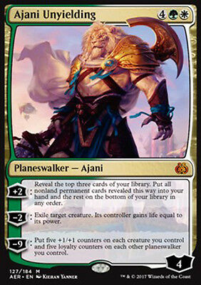 PREORDER Magic the Gathering - Ajani Unyielding - MTG Mythic - Aether Revolt
