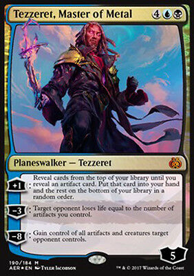 PREORDER Magic the Gathering - Tezzeret, Master of Metal - MTG - Aether Revolt