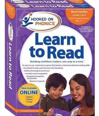 Hooked On Phonics Learn To Read Kindergarten, Levels 1 and 2 [With Book(s) And
