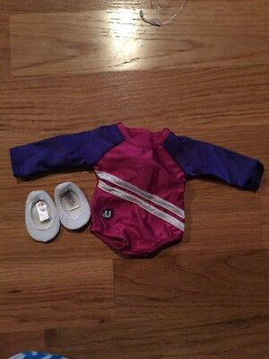 American Girl Doll USA Gym Outfit With Shoes New