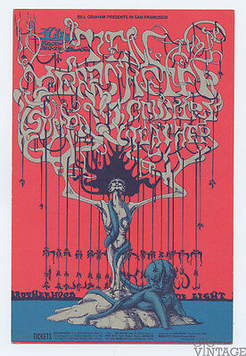 Bill Graham 145 Postcard Ten Years After Country Weather 1968 Nov 14