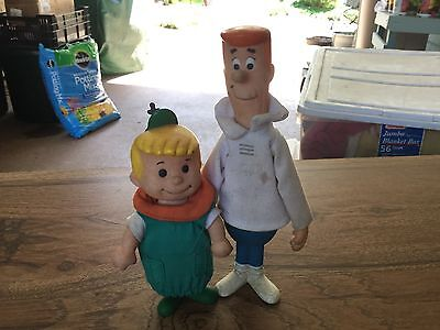 Vintage collectible George and Elroy Jetson from Hanna-Barbara! 1960's