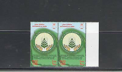OMAN:  Sc.486 /**SYMPOSIUM ON AGRICULTURE**/  PAIR  /  MNH.