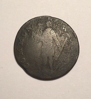1788 Massachusetts Colonial Copper Cent Coin