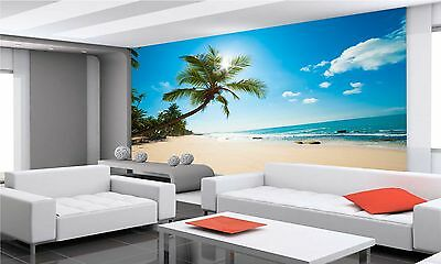 Photo Wallpaper  TROPICAL BEACH II GIANT WALL DECOR PAPER POSTER FOR BEDROOM