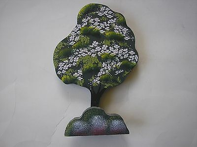 "SHELIA'S Collectibles Accessories LARGE  6"" TALL Dogwood Tree with Bush SHEILA"