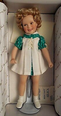 "Shirley Temple Doll - ""captain January""  Movie Memories Danbury Mint"