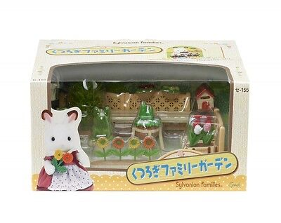 Epoch Sylvanian Families Doll Accessory Se-155 Family Garden From Japan