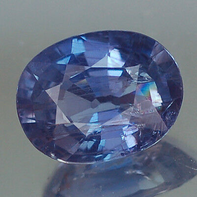 2.31 Certified Unheated Blue Oval Ceylon Sapphire Natural