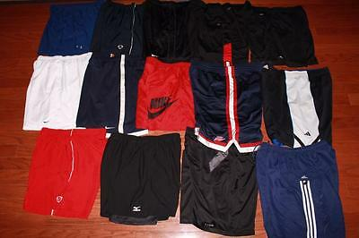 Lot 14 Pairs Mens Nike Basketball Shorts Adidas Under Armour Gym Practice All Xl
