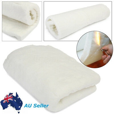 Ceramic Fiber Insulation Blanket Wool High 1260ºC Thermal Ceramics 24''x24''x1''