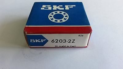 6203-2Z SKF Ball Bearing 6203 ZZ 17x40x12 mm deep groove ball bearing