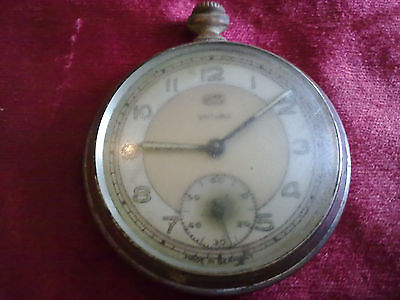 Old Pocket Watch Umf,ruhla,saturn Made In Germany