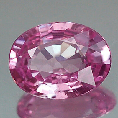 1.35Ct Gorgeous Aa Oval Heated Only Pink Sapphire Natural