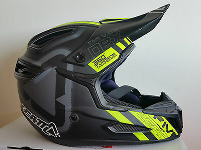 Casque  Leatt Dbx 5.0 V09  Black/yellow Lg