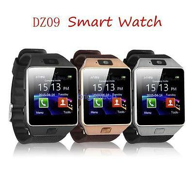 DZ09 Waterproof Bluetooth Smart Watch Phone Mate For Android IOS iPhone Samsung