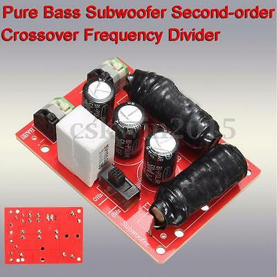Pure Bass Subwoofer Second-order Crossover Frequency Divider For Home Theater
