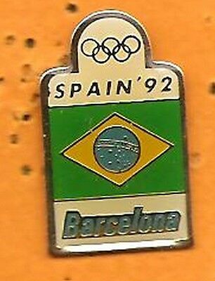 pin's pins J.O Barcelona 92 Barcelone  Spain  Espagne Jeux Olympiques