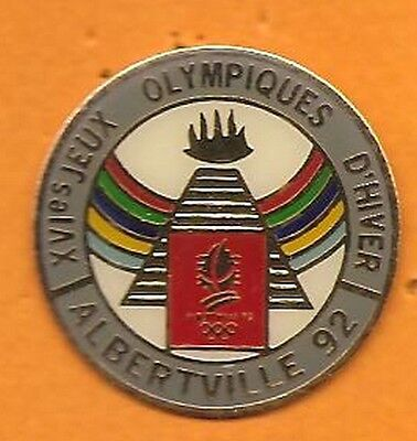 pin's pins J.O Albertville 92   Jeux Olympiques d'Hiver