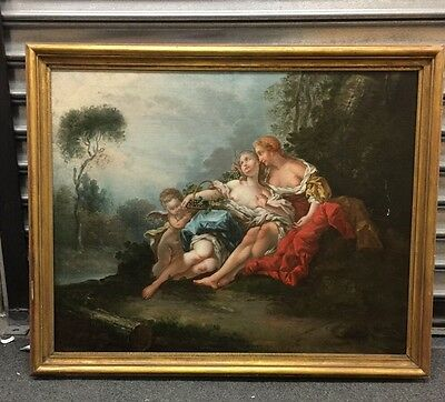 Oil on Canvas attri. to Francois Boucher  1770.