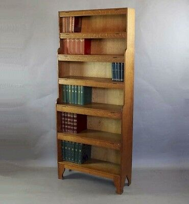 arts and crafts movement oak bookcase by Arthur Simpson