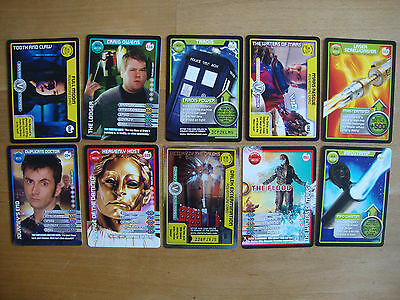10 Doctor Who Trading Cards Lot 21