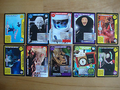 10 Doctor Who Trading Cards Lot 19