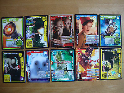 10 Doctor Who Trading Cards Lot 11