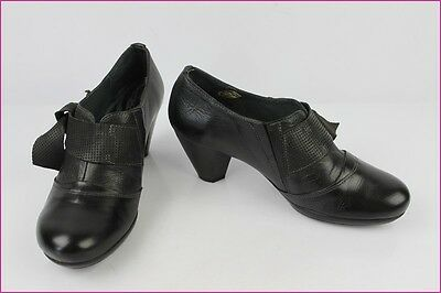 Court shoes Boots HISPANITAS Black Leather T 36 VERY GOOD CONDITION