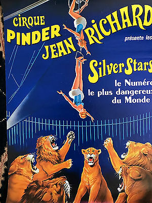Affiche Cirque Jean Richard