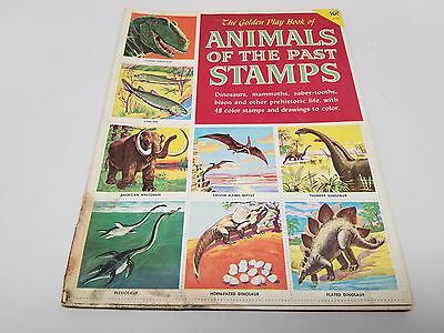 Golden Stamp Book of Animals of the Past Vintage
