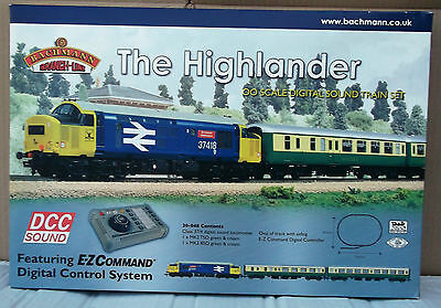 Bachmann Branch-Line 30-048 The Highlander - BOX, POLY TRAY & PLASTIC TRAY ONLY