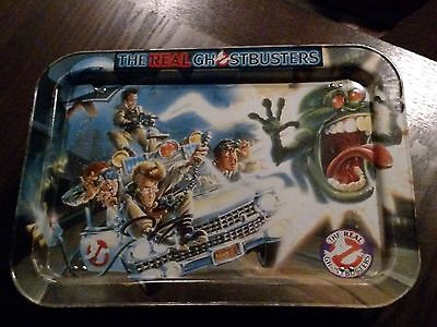 The Real GhostBusters Metal TV Folding Tray, 1986