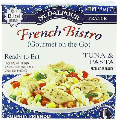 St. Dalfour Gourmet On The Go, Ready to Eat Tuna & Pasta, 6.2-Ounce Tins 6 PK