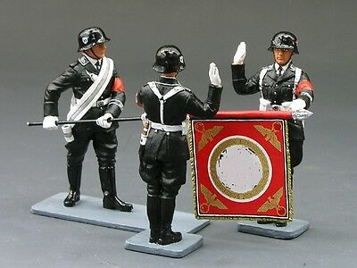 King And Country Lah061 Lah61 Oath Taking Ceremony 1:30 Scale Retired Set Rare